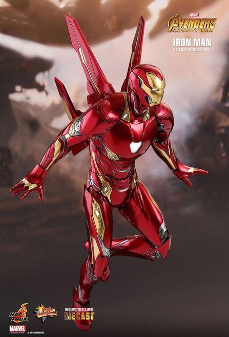 Hot Toys Iron Man Mark 50 Avengers Infinity War MMS473D23