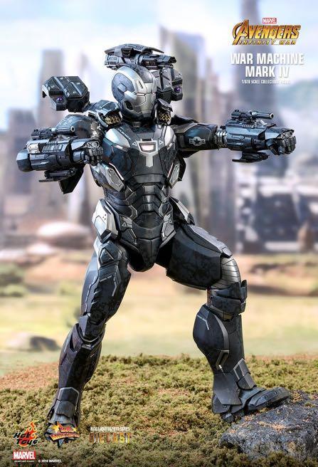 Hot Toys Iron Man War Machine Mark 4 Infinity War