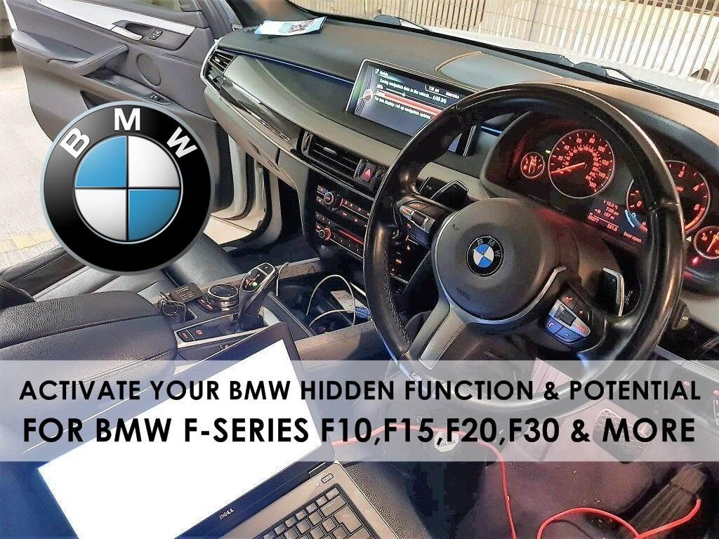 [HOT] UNLOCK BMW HIDDEN FUNCTION AND POTENTIAL F SERIES (F10,F15,F20,F30)