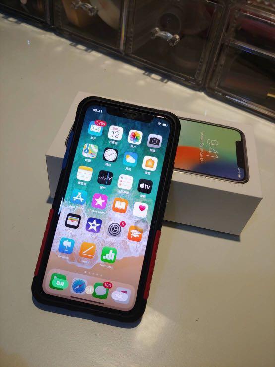 I phone x 64G 銀白色