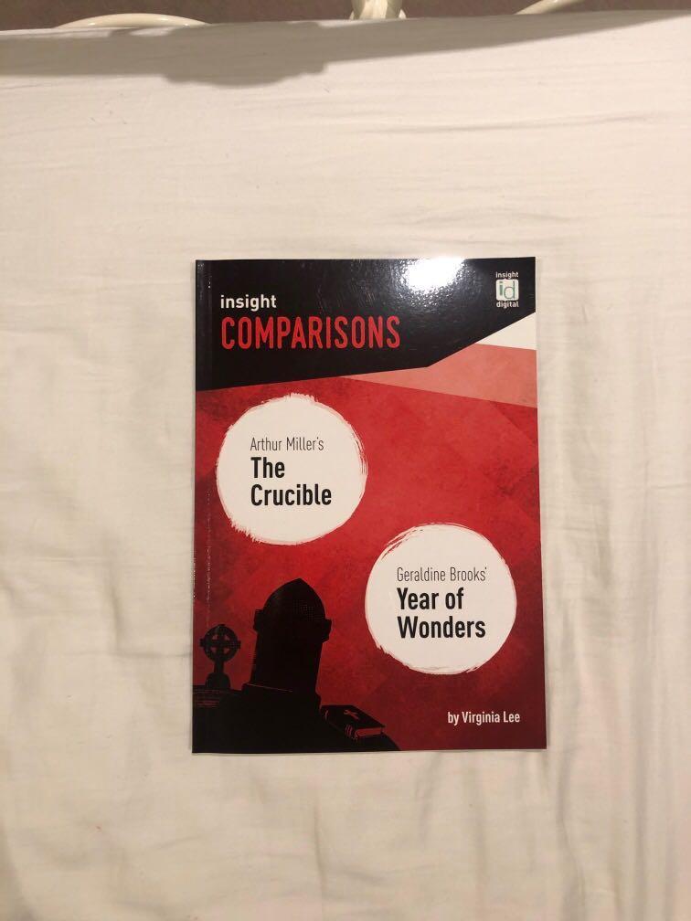 insight comparisons the crucible and year of wonders