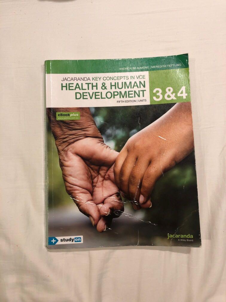jacaranda VCE health and human development units 3 & 4 textbook