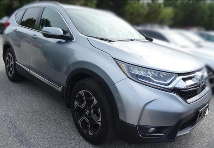 Jc car Honda CR-V 2018年1.5L渦輪頂級版 省油省稅大馬力 全景天窗滿配 原鈑件車庫車 舒適熱門休旅