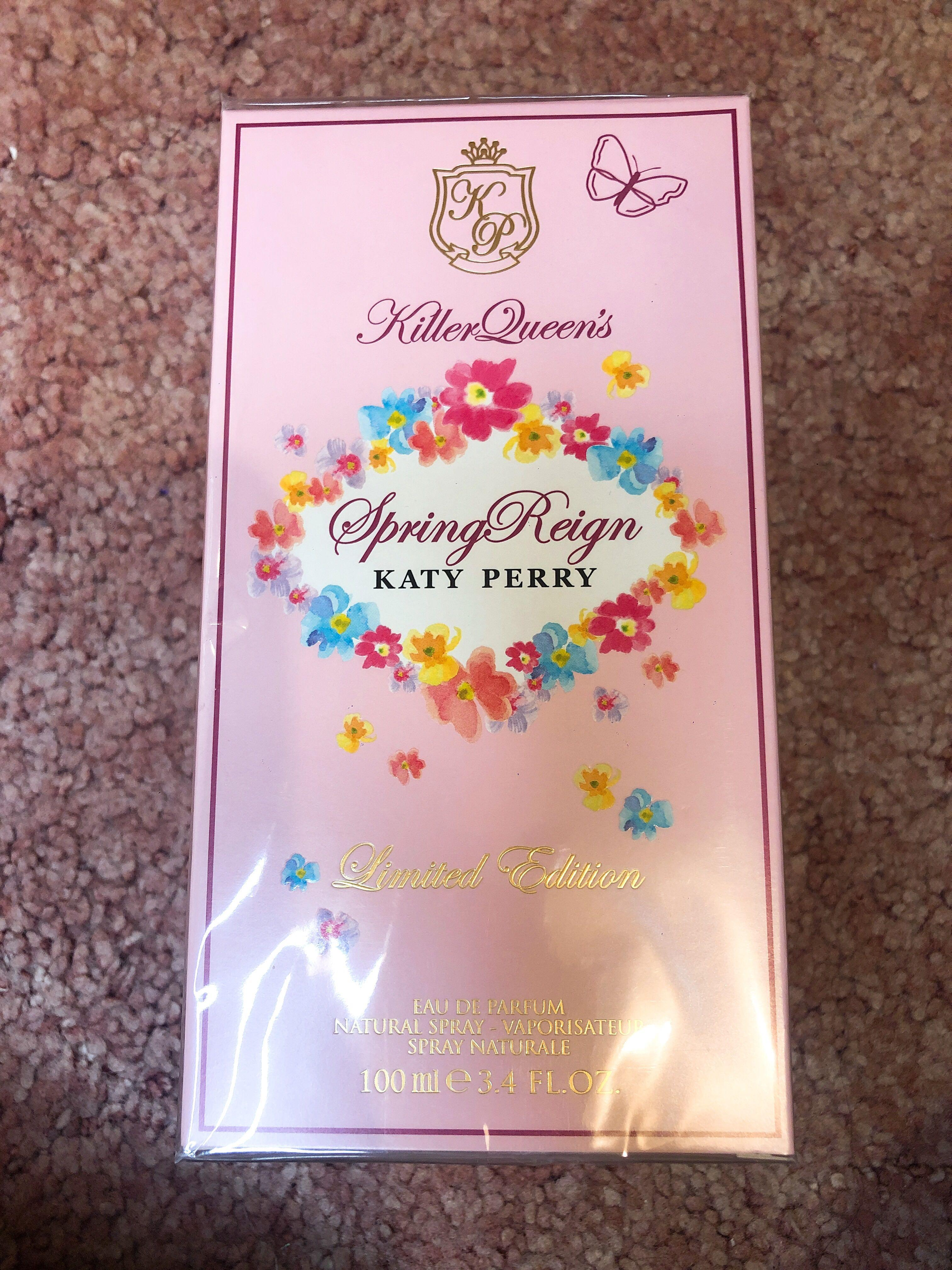 Katy Perry's Limited Edition Spring Reign Parfum 100ml