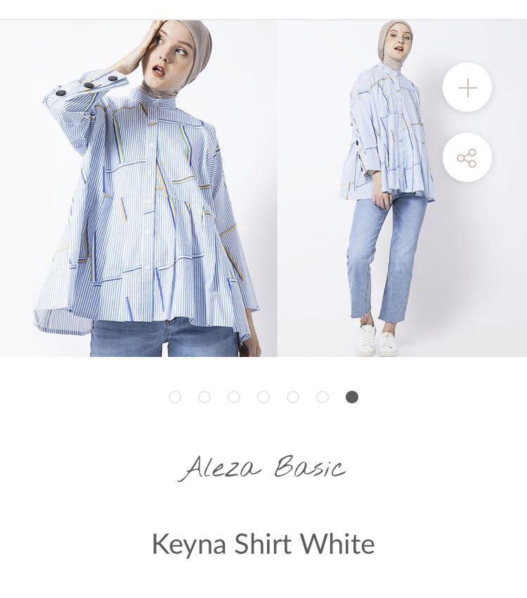 Keyna shirt white aleza / alezalabel