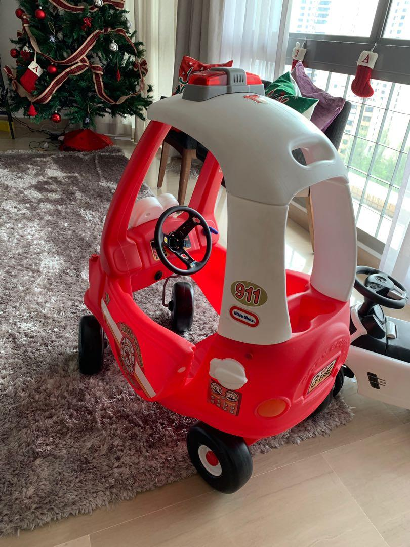 Little Tikes Ride Rescue Cozy Coupe Car Babies Kids Toys Walkers On Carousell