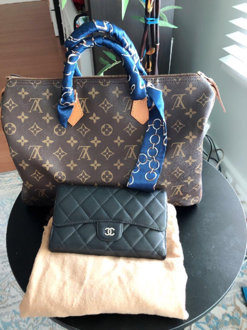 Louis Vuitton35 & Chanel wallet