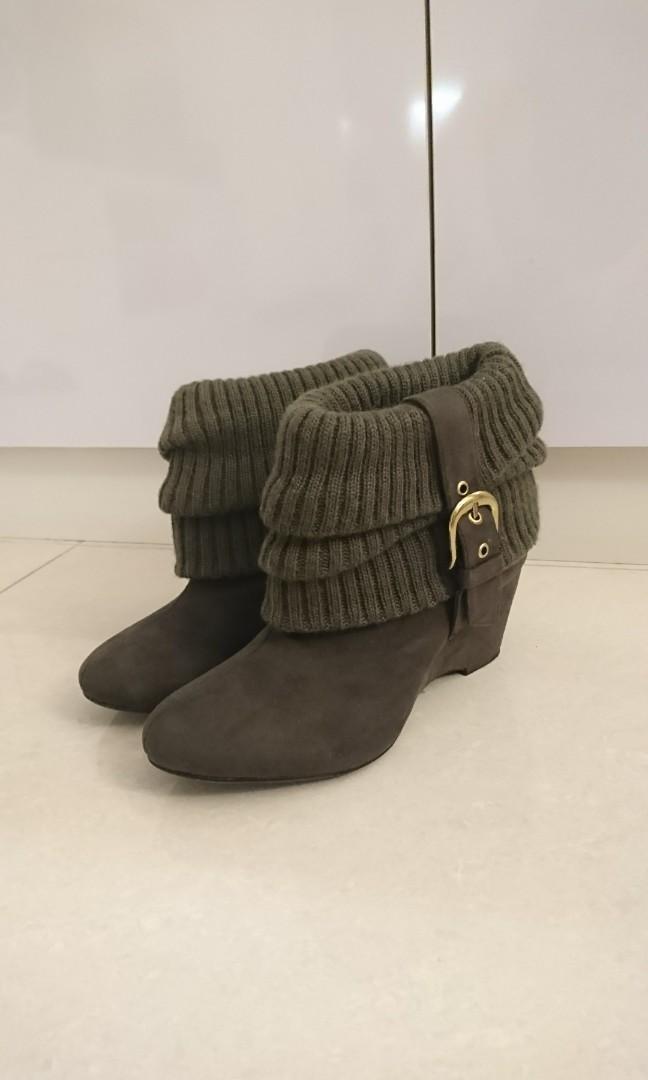 日本帶回短靴M號 二手鞋 保存良好#剁手時尚