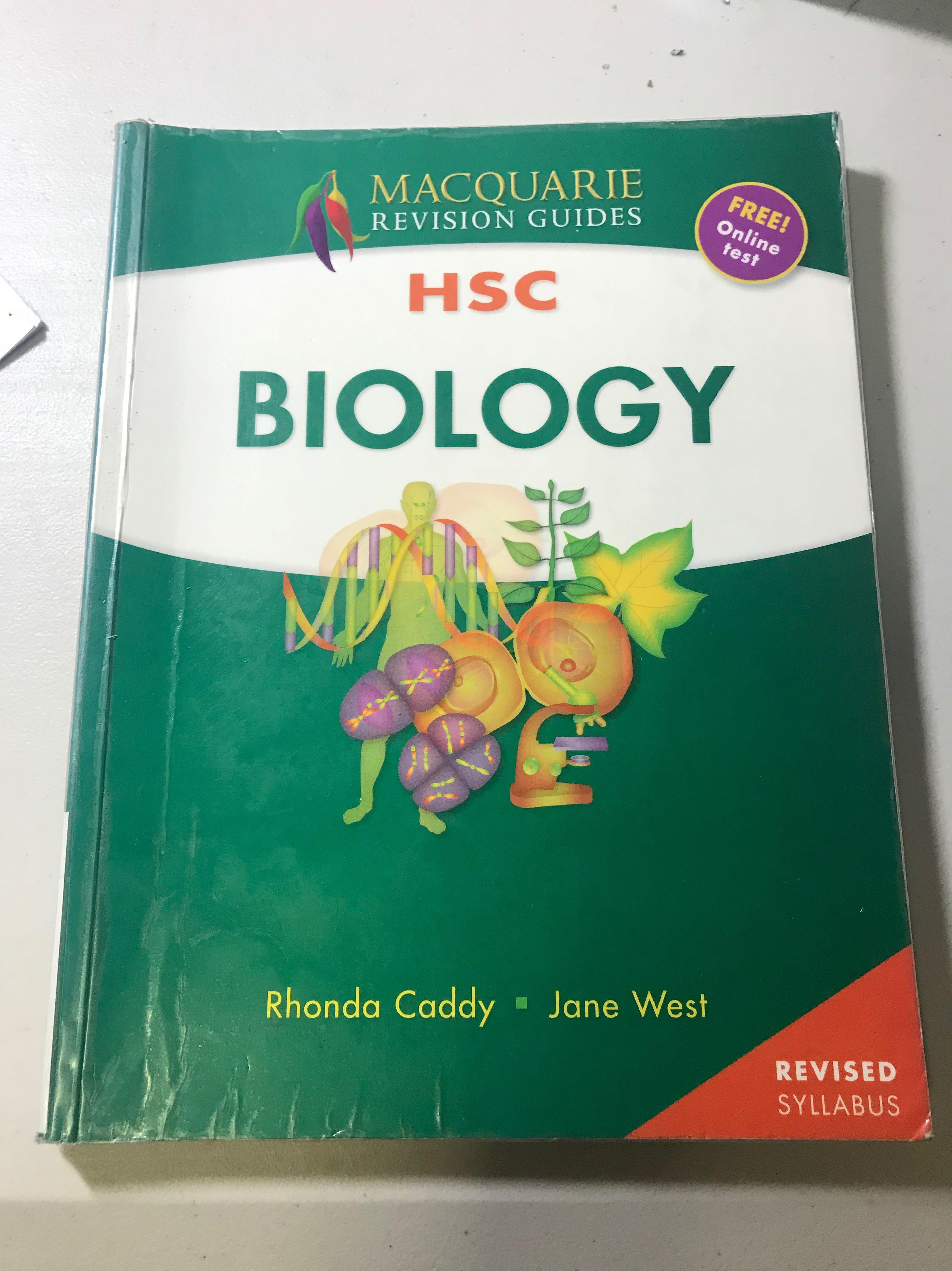Macquarie Revision guides HSC biology textbook (old syllabus)