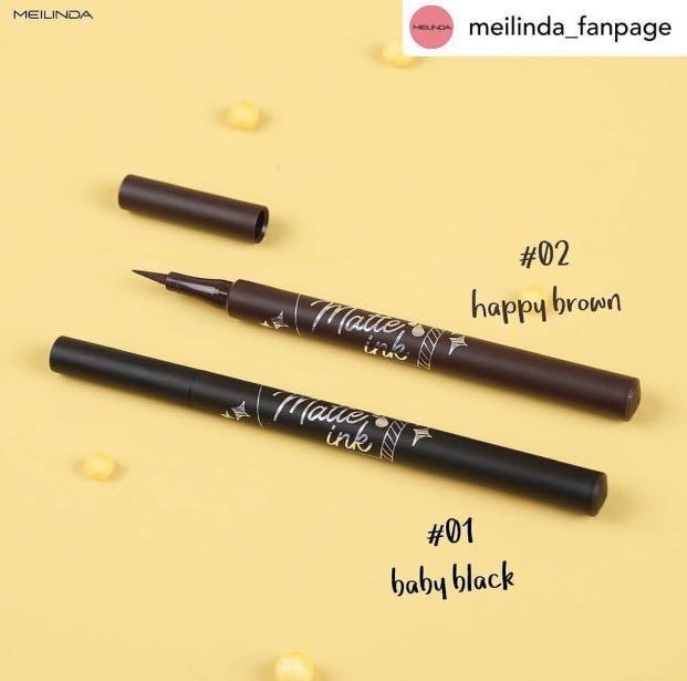 Meilinda - Matte Ink Eyeliner