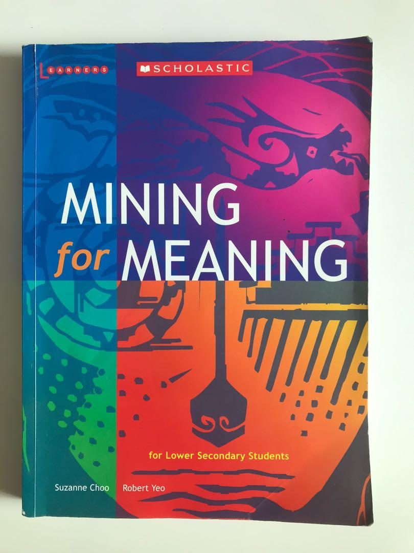Mining For Meaning English Book