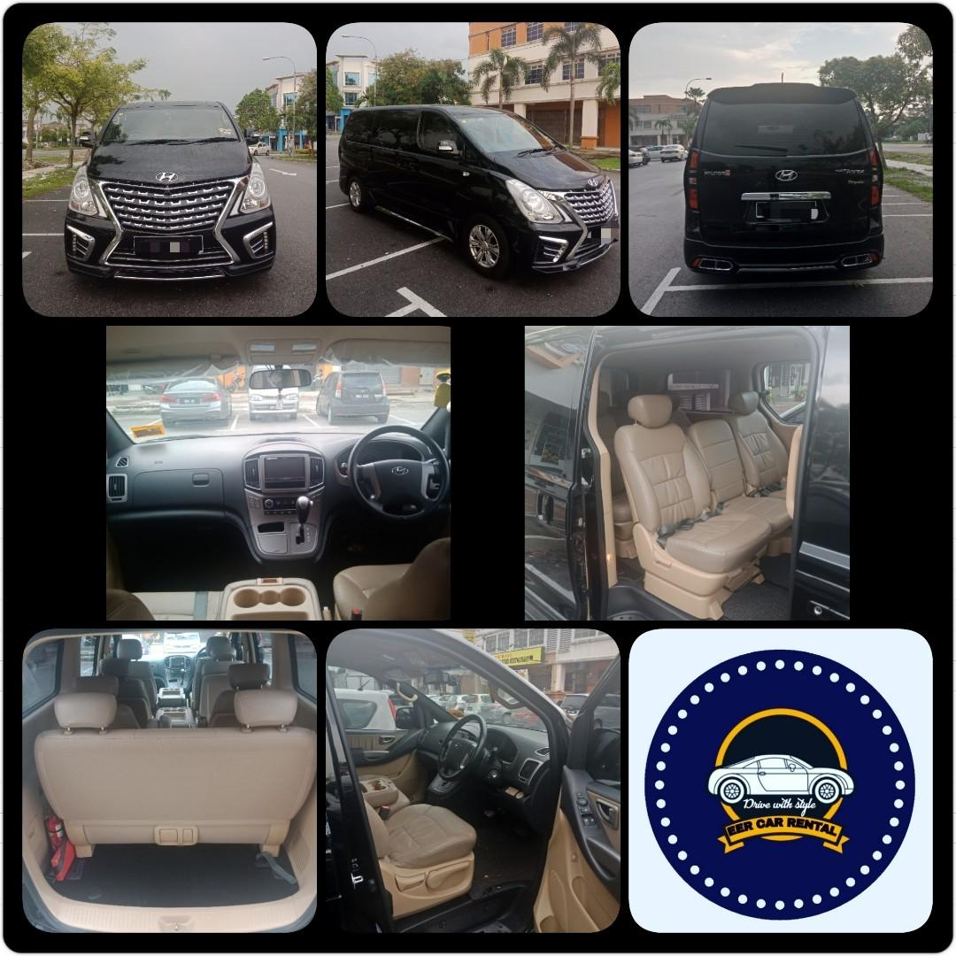 New Hyundai Grand Starex Royale 2.5 (A) MPV CAR RENTAL SELANGOR KL