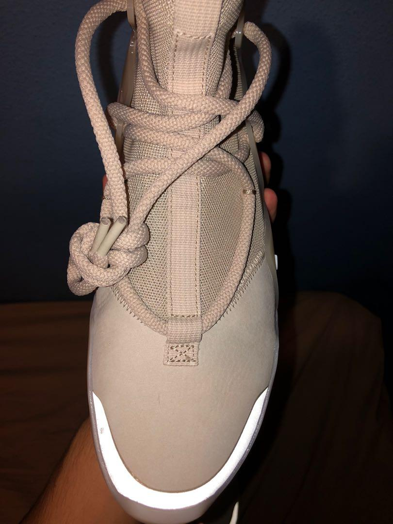 Nike Air Fear Of God 1 Oatmeal US7 NEW!!!