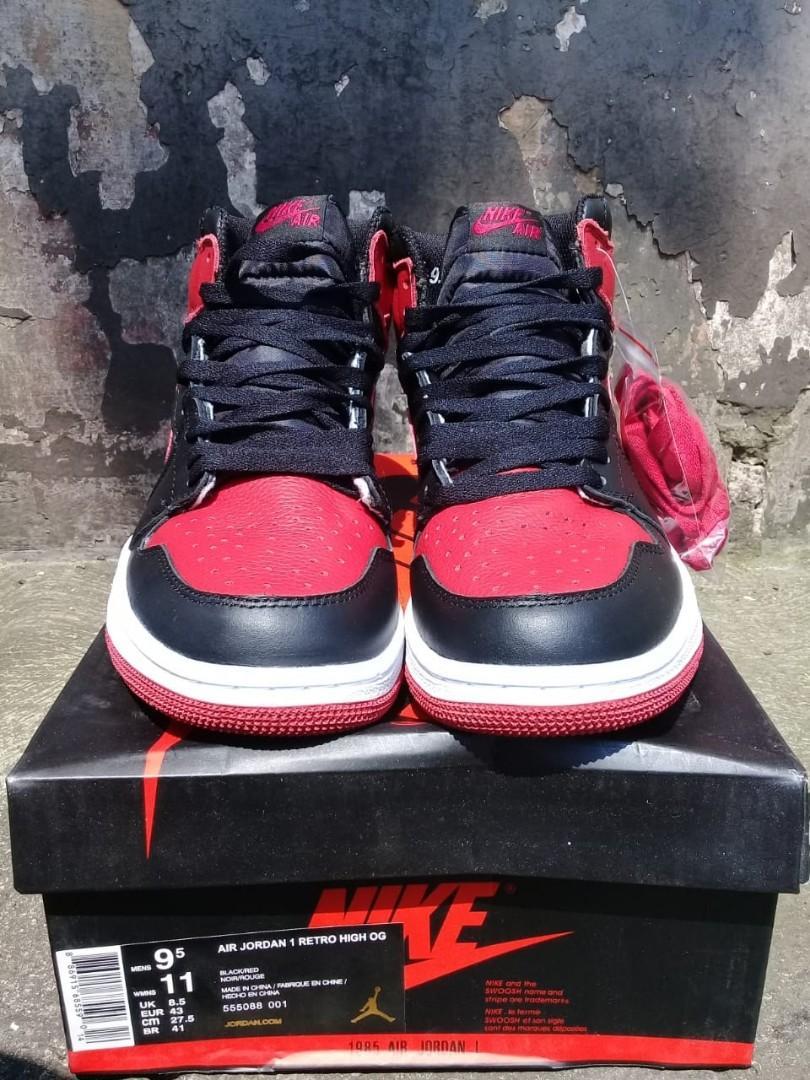 Nike Air Jordan 1 Retro High OG Bred