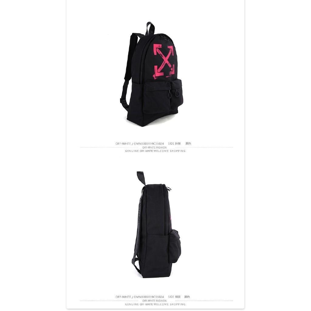 OFF-WHITE Backpack Laptop Travel Bag