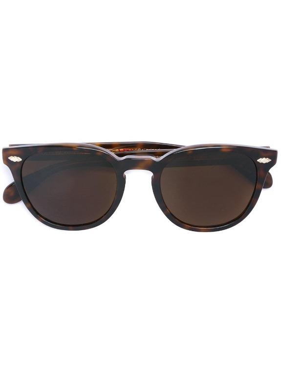 Oliver Peoples Sheldrake Plus Classic Tortoise Polarized Sunglasses