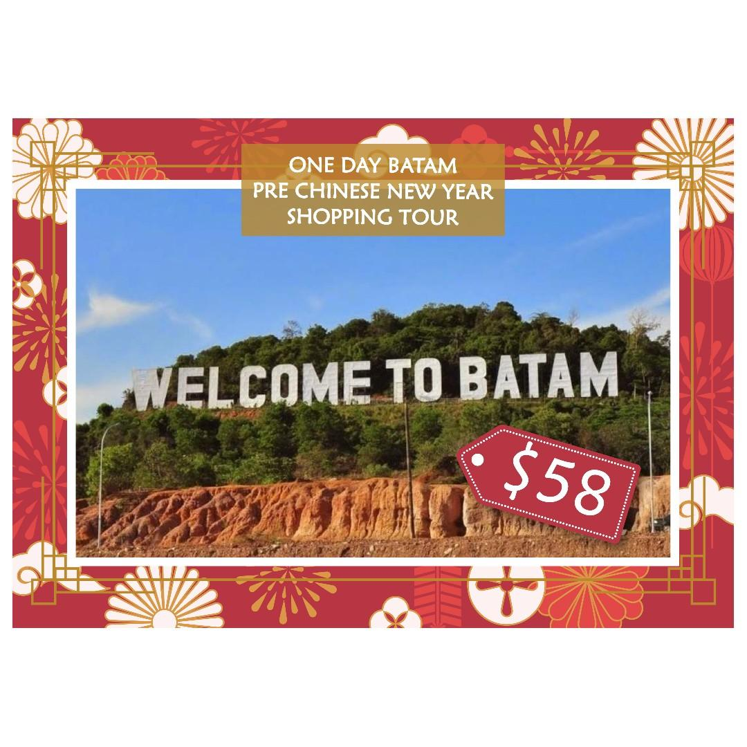 One Day Batam Pre Chinese New Year Shopping Tour