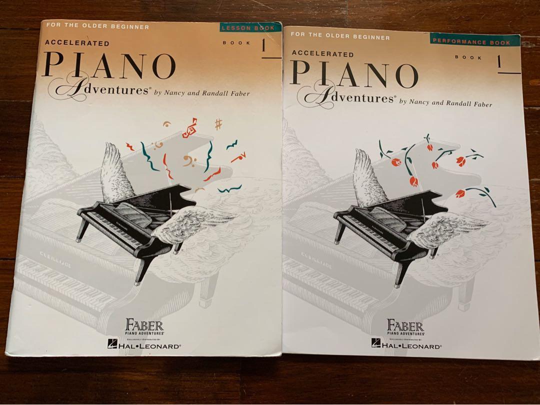 Piano Books Set - Accelerated Piano adventures