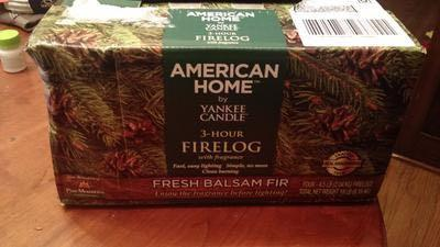Pine Mountain Yankee Candle Fragrance Firelog (Set of 4)