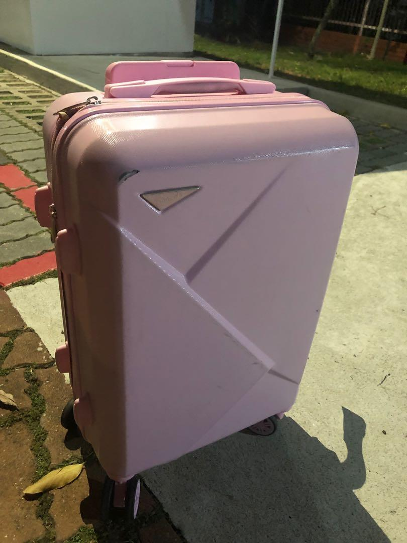 Pink Cabin Luggage