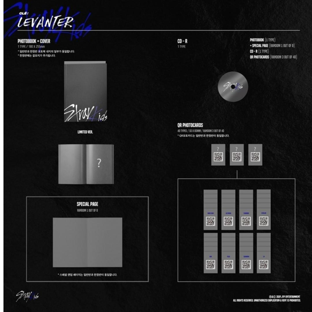 [PREORDER] [LIMITED EDITION] 스트레이 키즈 STRAY KIDS - CLE : LEVANTER