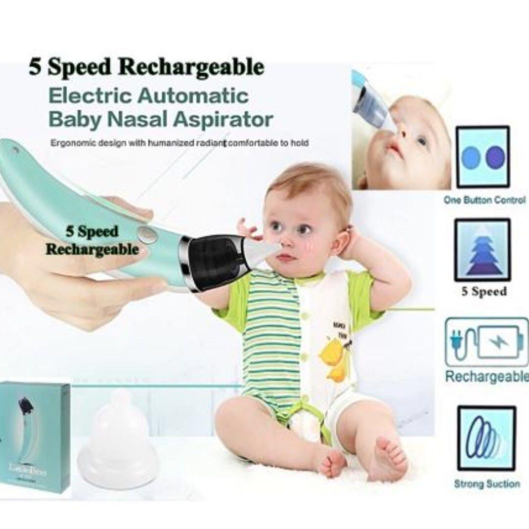 (PROMOTION 11:11) ELECTRIC AUTOMATIC BABY NASAL ASPIRATOR CLEAR RUNNING NOSE