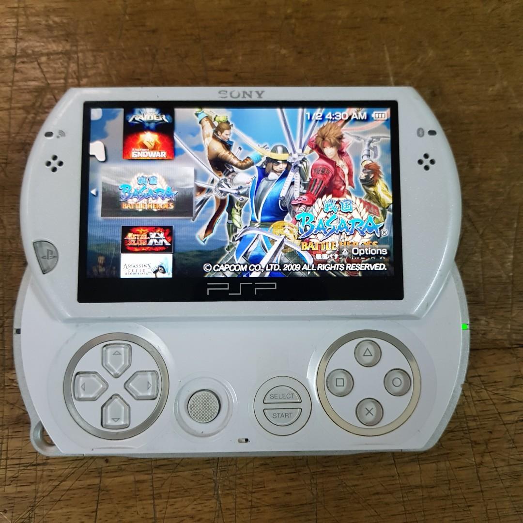PSP GO WHITE MEMORI 16GB FULL GAME