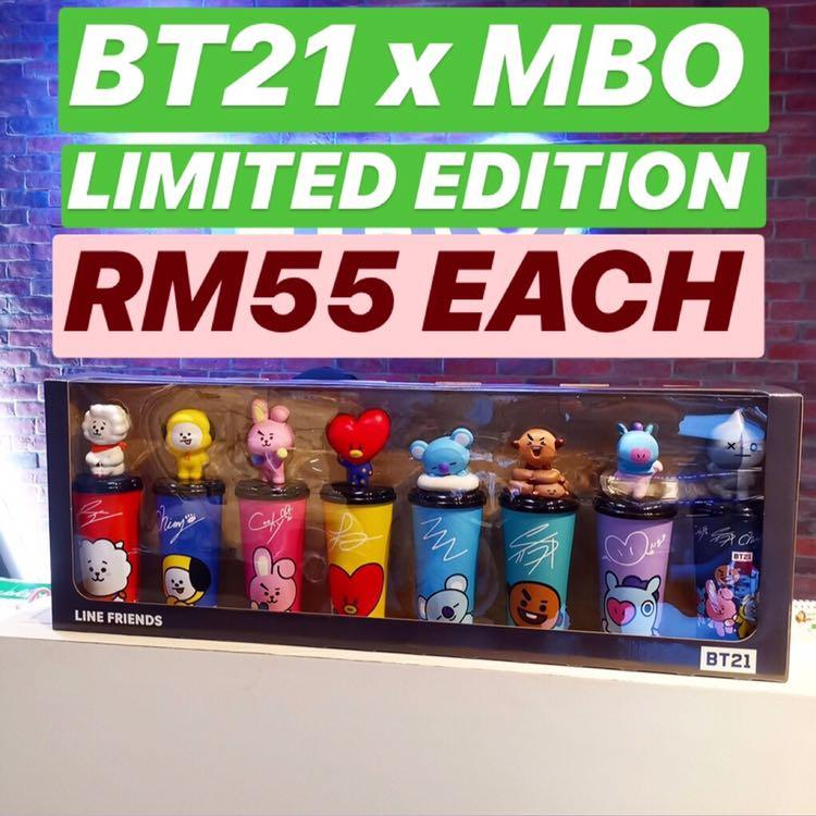 [PURCHASING SERVICE] BT21 x MBO TUMBLERS LIMITED EDITION (LOOSE)