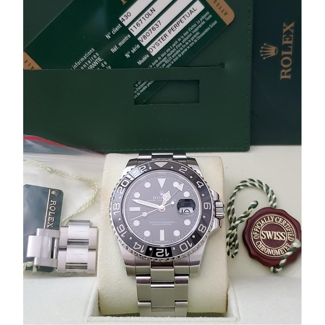 Rolex GMT-Master II 116710LN Discontinued