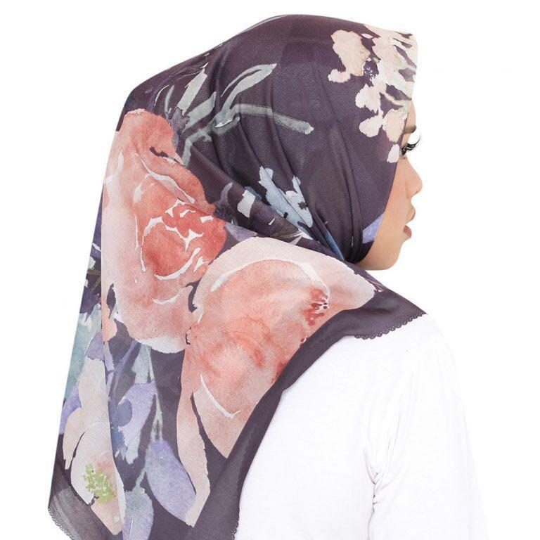 Sale buttonscarves peony midnight