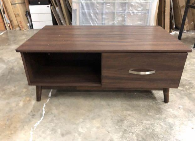 Sale Coffe table (walnut )