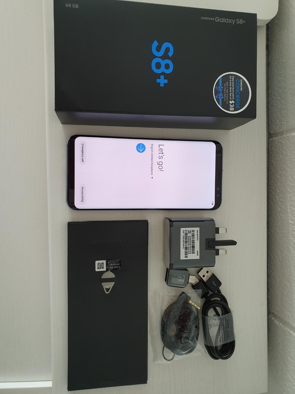 Samsung Galaxy S8 + / Galaxy S8 Plus Orchid Grey 64GB