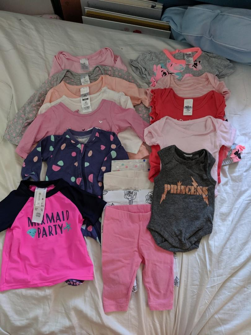 Second hand baby girl summer clothes