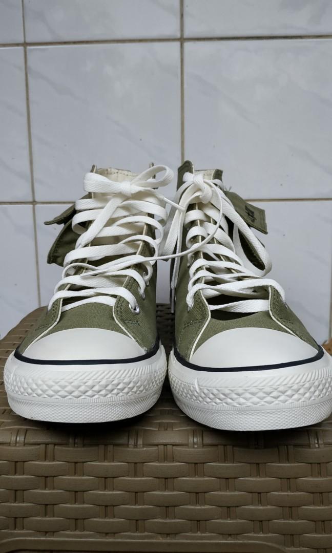 Sepatu converse cargo hijau