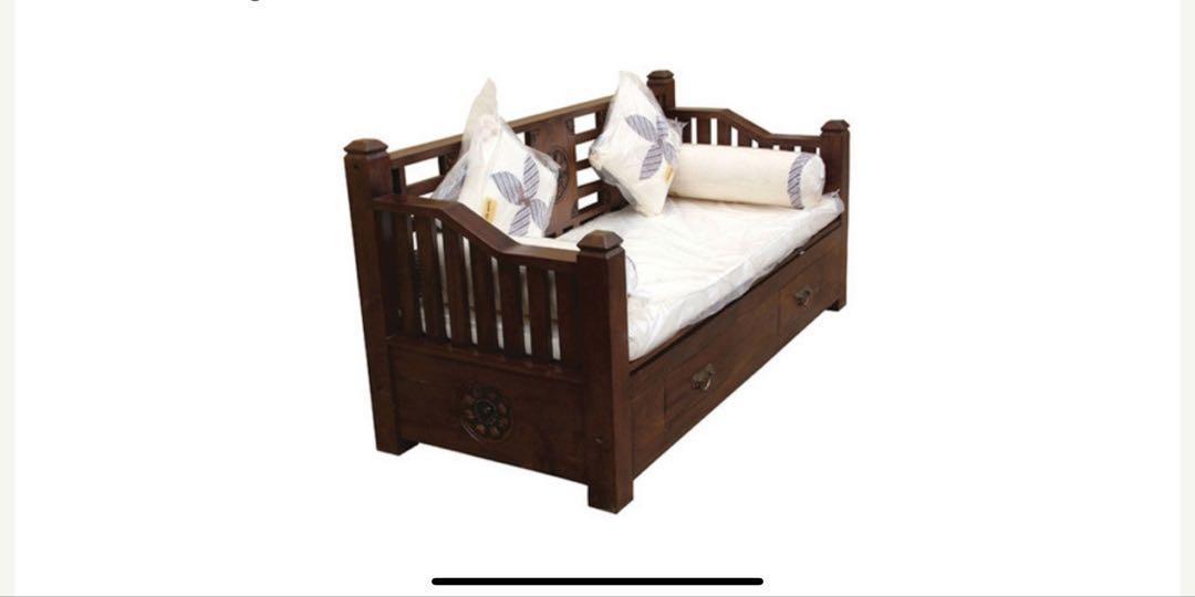 WAREHOUSE SALE JAN 1-5 Teak Daybed Sofa Bed TeakCo.com