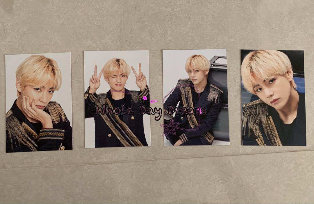BTS 防彈少年團 Speak Yourself Final Photo Set 全套V