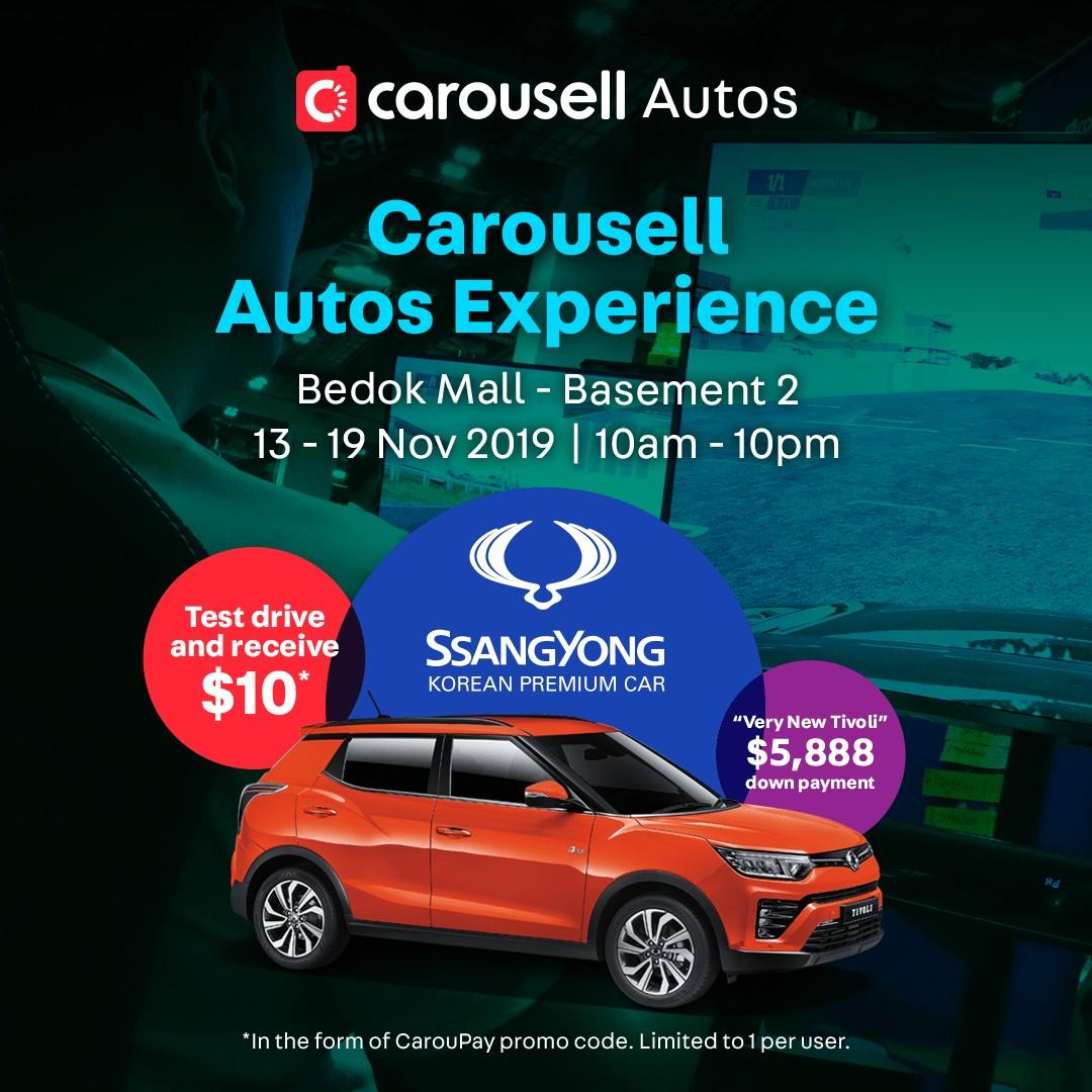 SsangYong @ Carousell Autos Experience - Bedok