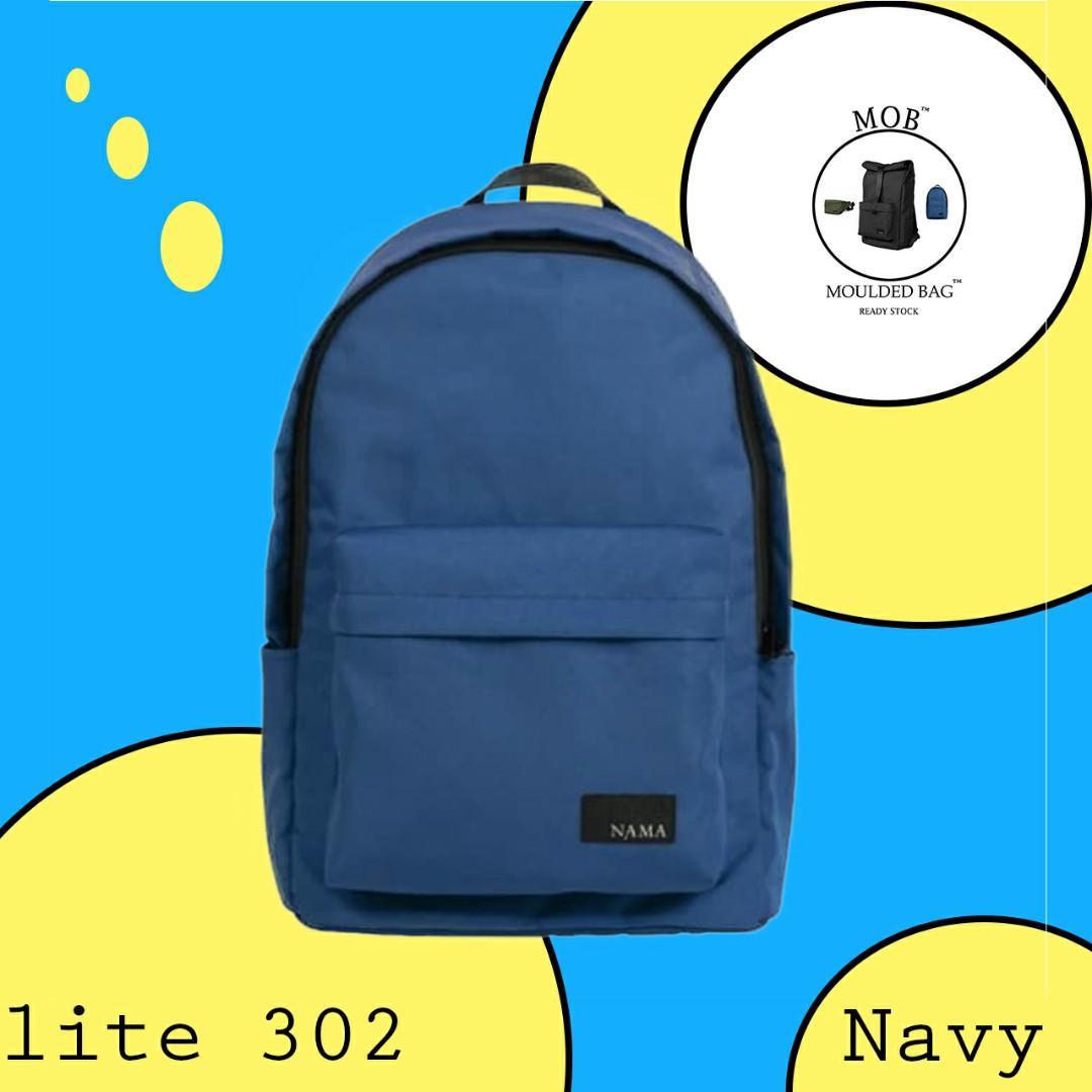Tas NAMA Lite. 302 - NAVY - Backpacker - Waterproof (Moulded Bag) #1111special