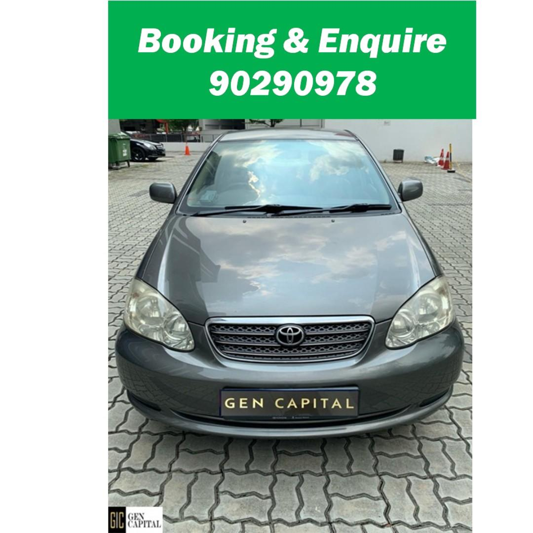 Toyota Altis - Immediately take ! $500 driveaway!!
