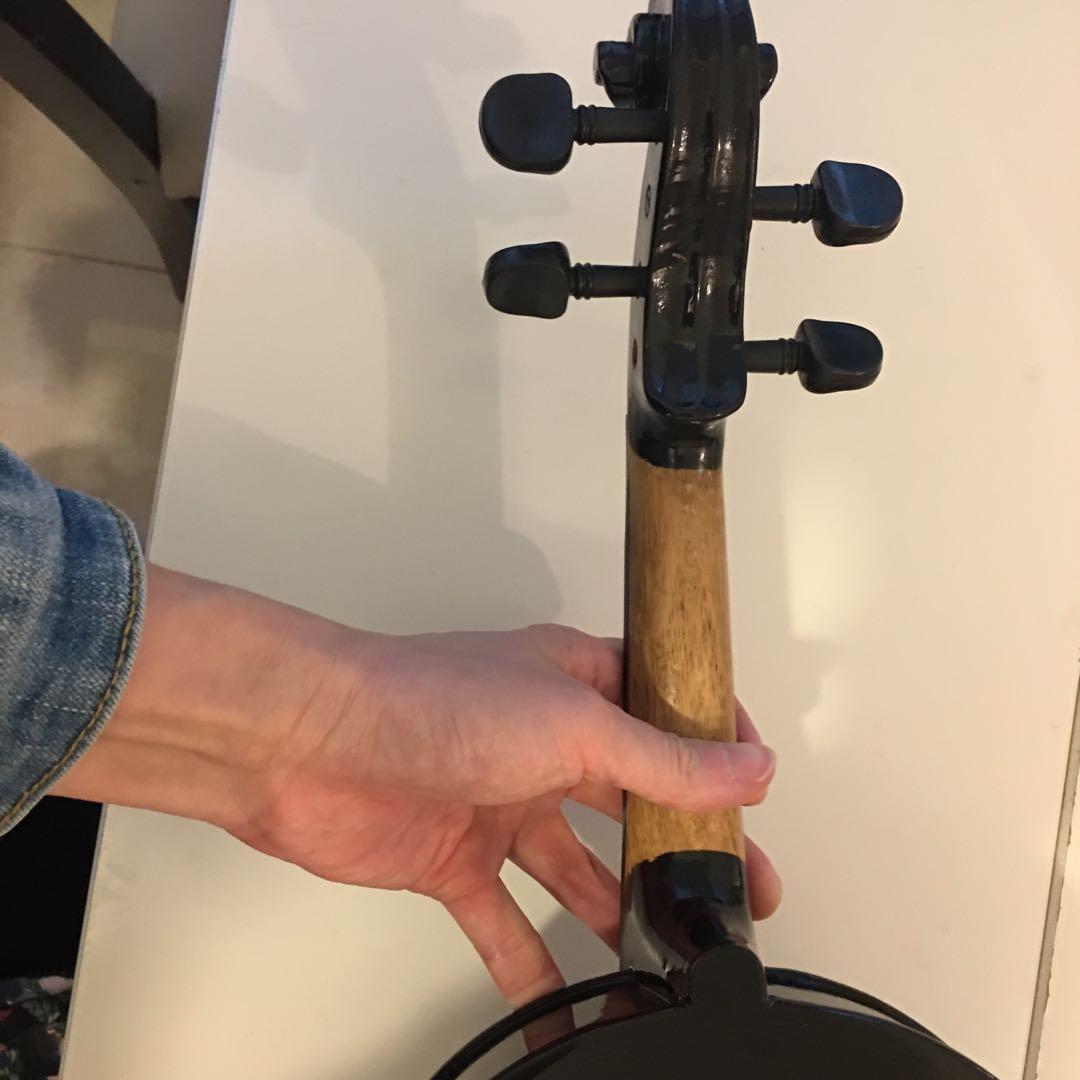 Violin 小提琴 大提琴 4/4 black  鋼琴黑 漆黑 成人