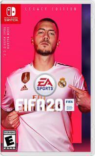 WTB FIFA 20 & Mario Odyssey