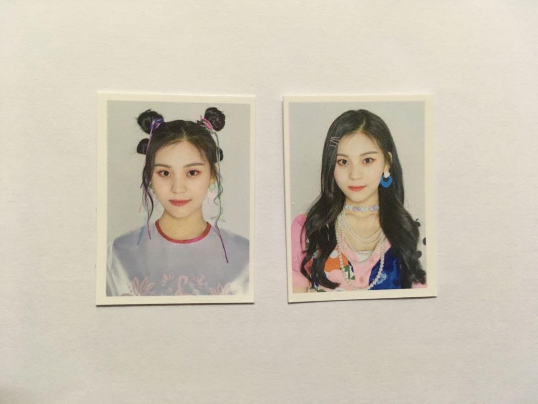 [WTS] Gfriend 2019 Asia Tour Official Goods - ID photo set