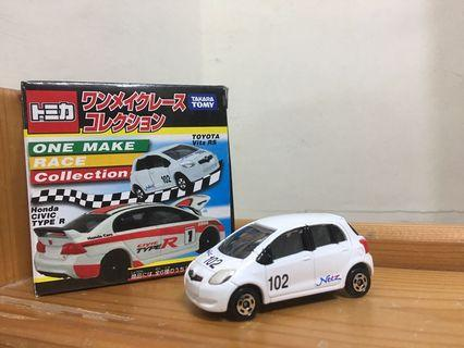 Tomica One Make Race Collection Toyota Vitz RS