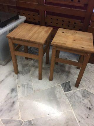 Promotion for this week-2 Ikea Stools/Small Table