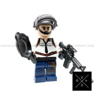 Lego Compatible Minifigures : PUBG