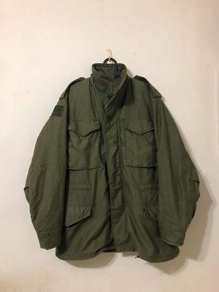 🇺🇸Vintage 90'S美製美品Alpha M65 Field Coat Jacket OG107黃金尺寸:S
