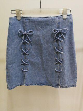 Denim A line Skirt #1111