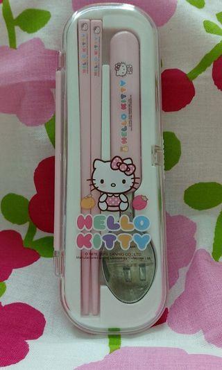 Hello Kitty兒童餐具組