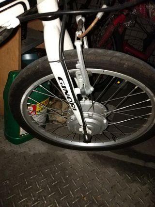 電動腳踏車,可摺疊,已改鋰電池