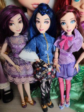 Disney Descendant Dolls Combo
